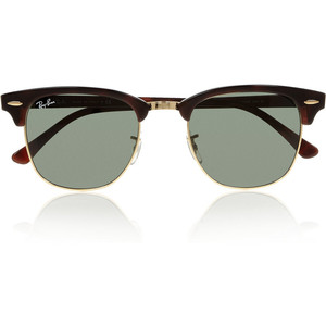 clubmaster tortoise classic ray ban